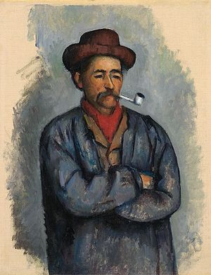Man with a Pipe - Image: Cardplayers study bloch collection