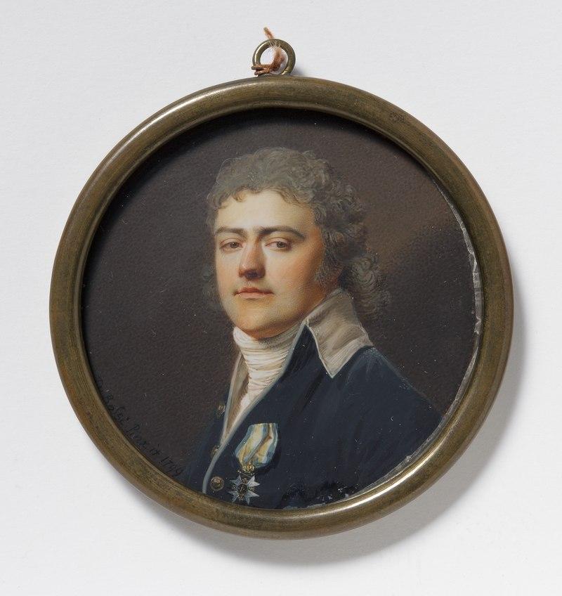 Carl Henrik Posse, 1767-1843, Count, military officer (Giovanni Domenico Bossi) - Nationalmuseum - 24006.tif