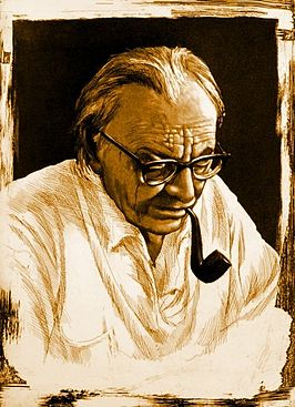 Carl Orff (aquatint-ets)