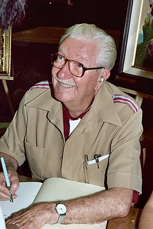 Carl Barks - Carl Barks at the 1982 San Diego Comic Con