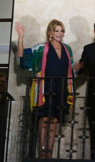Carmen Cervera - Carmen Cervera at the inauguration of Museum Thyssen in Málaga