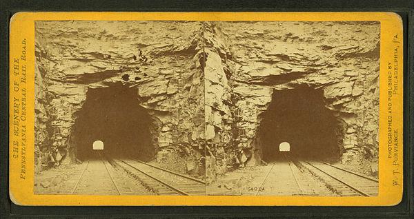 Pennsylvania railroad bridges and tunnels for Cabine nei pini logan oh