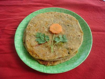 Carrot Raddish Paratha.JPG