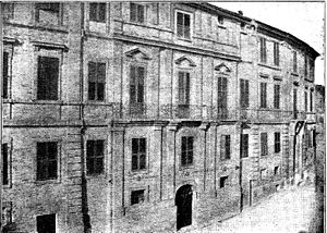 Giacomo Leopardi - Palace of Leopardi in Recanati