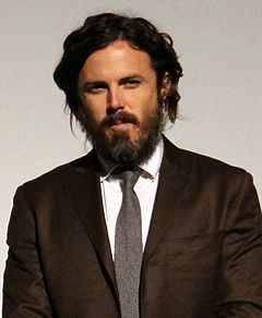 Casey Affleck won for his performance in Manchester by the Sea (2016). Casey Affleck at the Manchester by the Sea premiere (30199719155) (cropped).jpg