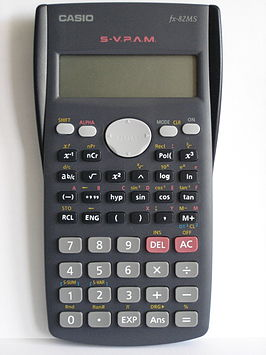 Casio rekenmachine