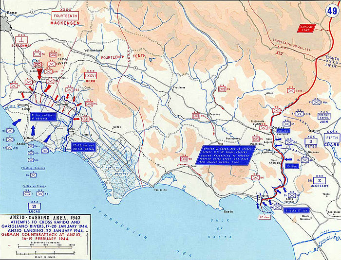 Force dispositions at Anzio and Cassino January / February 1944 Cassino+Anzio1943JanFeb.jpg