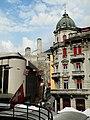 Castelgrande view form Viale Stazione Street.JPG
