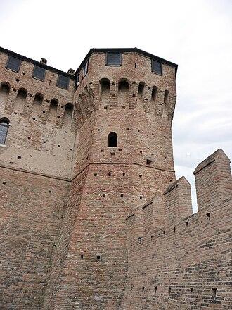 Gradara Castle - Image: Castello Gradara giu 09 f 09