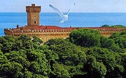 Panorama di Castiglioncello (Costa degli Etruschi)
