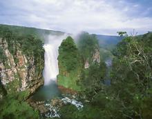 Cataratas en el Parque Nacional Noel Kempff Mercado