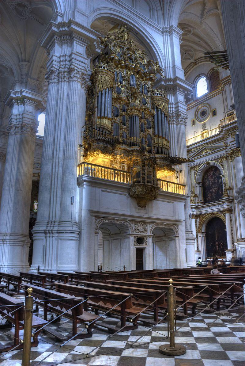 Catedral de Granada órgano.jpg