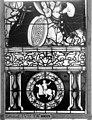 Cathédrale - Vitrail, Chapelle Saint-Joseph, Vie de saint Romain, lancette de droite, cinquième panneau, en haut - Rouen - Médiathèque de l'architecture et du patrimoine - APMH00031322.jpg