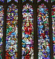 Cathedral of the Most Blessed Sacrament (Detroit, Michigan) - stained glass, Heavenly Court - detail.JPG