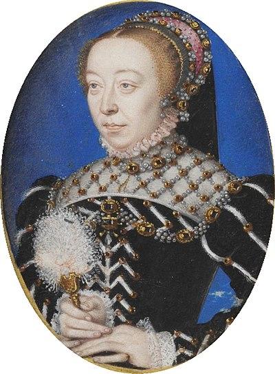 Miniature of Catherine de' Medici