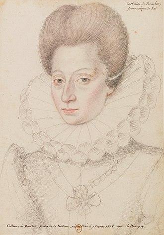 Catherine de Bourbon - Image: Catherinebourbon 1