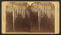 Cave of the Winds, Stalactites Alabaster Avenue, by W. H. Jackson & Co..png