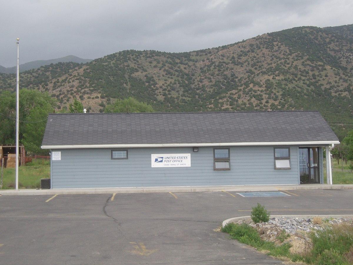 Cedar Fort Utah Wikipedia - Usa zip code utah