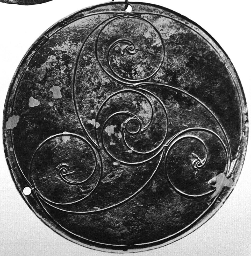Celtic Bronze Disc, Longban Island, Derry