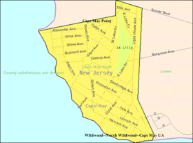Census Bureau map of Cape May Point, New Jersey.png