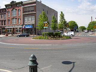 Centennial Circle Roundabout in New york