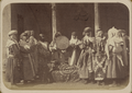 Central Asian Funerary Customs. A Group of Jewish Women at a Funeral WDL10848.png
