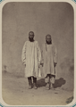 Central Asian Men's Clothing. Two Styles of Shirt WDL10764.png