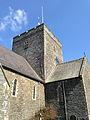 Central crossing tower of St Padarn's Church, Llanbadarn Fawr, Ceredigion.jpg