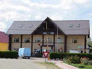 Milișăuți Town in Suceava, Romania