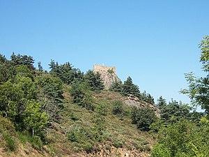 Château de Couzan - Image: Château de Couzan 1