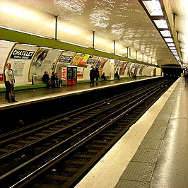 ch telet metrostation parijs wikipedia. Black Bedroom Furniture Sets. Home Design Ideas