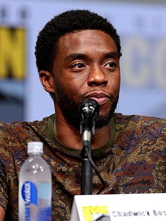 Chadwick Boseman - Boseman at the 2017 San Diego Comic-Con