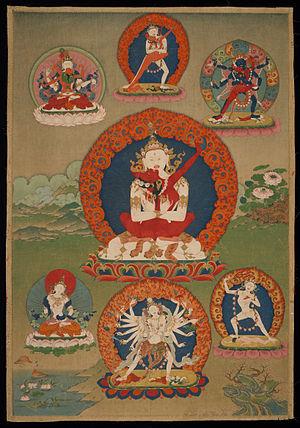 Buddhist deities - Chakrasamvara