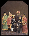 Chamarajendra Wadiyar X with his children.jpg