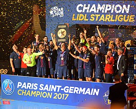 Description de l'image Champion de LidlStarLigue 2016-2017 4 20170608.jpg.