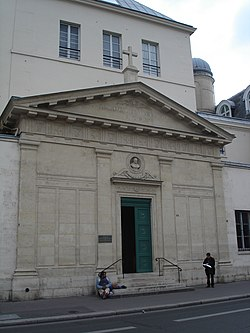 Chapelle Saint Vincent de Paul -exterior.JPG