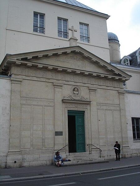 Fichier:Chapelle Saint Vincent de Paul -exterior.JPG