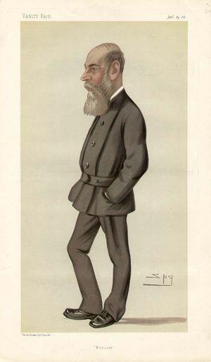 Boycott - Vanity Fair caricature of Charles C. Boycott