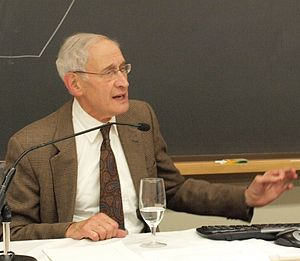 Charles Fried - Fried speaking at Harvard Law School in 2009.