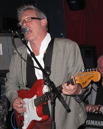 The Blockheads -  Chas Jankel at Water Rats, July 2011