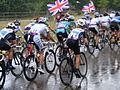 Chasing bunch Womens Olympic road race, Richmond (7669906572).jpg