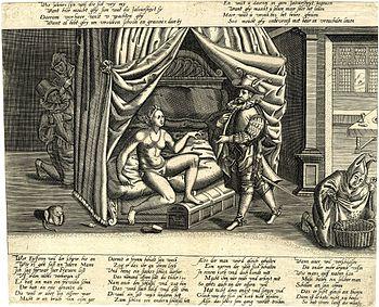 Chastity belt satire