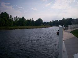 Cheboygan River in Cheboygan.jpg