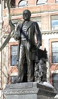 Statue of Chester A. Arthur sculpture