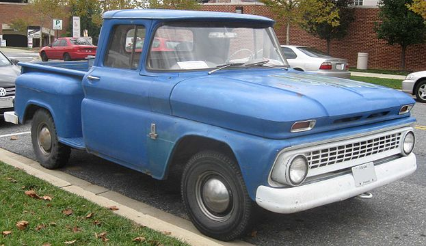 Pickup Chevrolet C10 Stepside de 1963