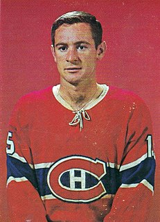 Bobby Rousseau Canadian ice hockey player