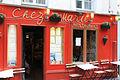 Chez Marie, 27 Rue Gabrielle, 75018 Paris, April 2014.jpg