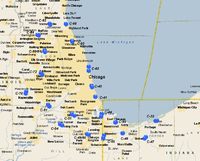 Chicago-Gary Defense Area