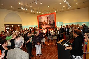 Chief Curator Joanne Hyppolite welcomes guests.jpg