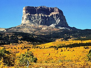 Chief Mountain mountain in Montana, United States